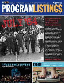Program Listings - July 2014