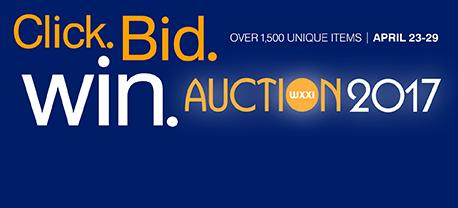 Place your bids today while supporting