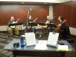 Backstage Pass with the Los Angeles Guitar Quartet