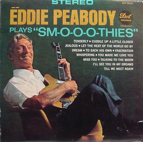 Eddie Peabody LP cover